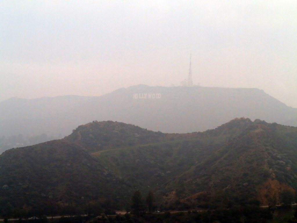 Hollywood dans la brume