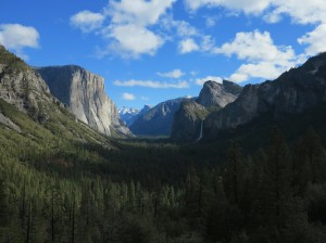 Yosemite Valley depuis tunel view
