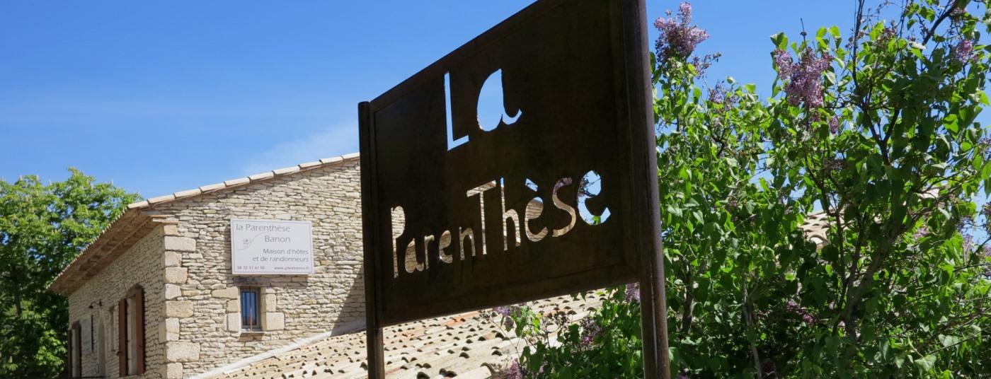 Maison d'hôtes en <strong>Haute-Provence</strong>